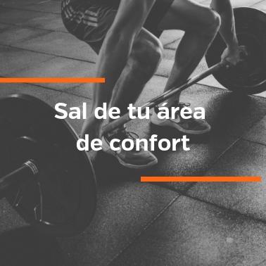 Sal de tu área de confort