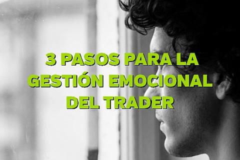 tres pasos para la gestión emocional