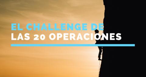 El Challenge de las 20 operaciones
